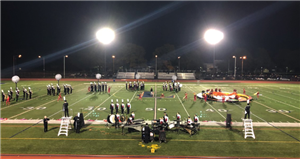 Marching Legends Perform at Liverpool HS