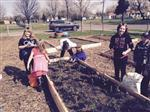 Planting Potatoes with The Green Thumb Club