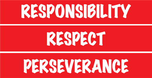 Responsibility Respect Perseverance