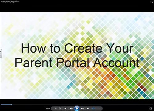 Video - How to Create a Parent Portal Account