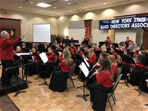 LHS Symphonic Band at NYS Band Directors Symposium