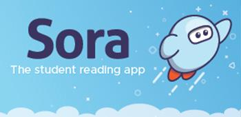 Sora The student reading app logo