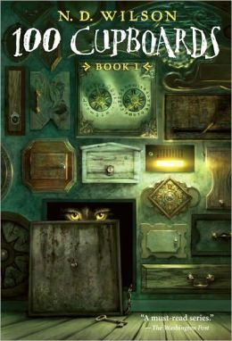 100 Cupboards Book Cover
