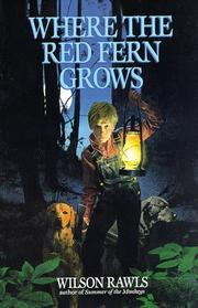 Where the Red Fern Grows Book Cover