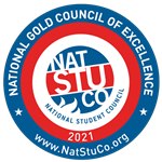 National Student Council Gold Council of Excellence Seal