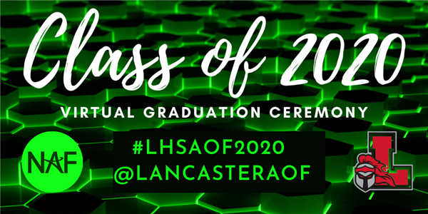 AOF Class of 2020 Graduation Ceremony - 7pm June 5, 2020