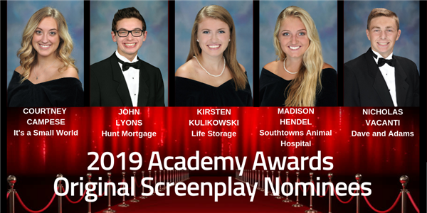 Original Screenplay Nominees 2019