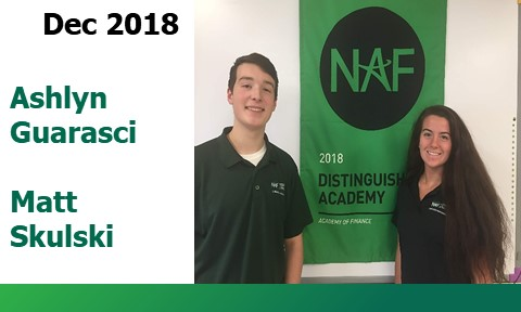 Future Ready Students - December 2018 Ashlyn and Matt