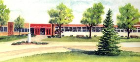 Sketch of John A. Sciole Elementary School